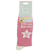 Lovely Boofle Auntie Socks Size 4-7