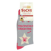 Lovely Boofle Daughter Socks Size 4-7