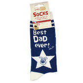 Lovely Boofle Dad Socks Size 8-12