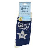 Lovely Boofle Uncle Socks Size 8-11