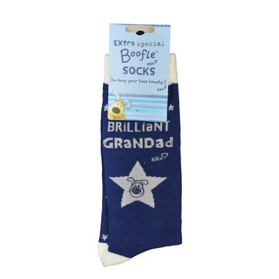 Lovely Boofle Grandad Socks Size 8-11