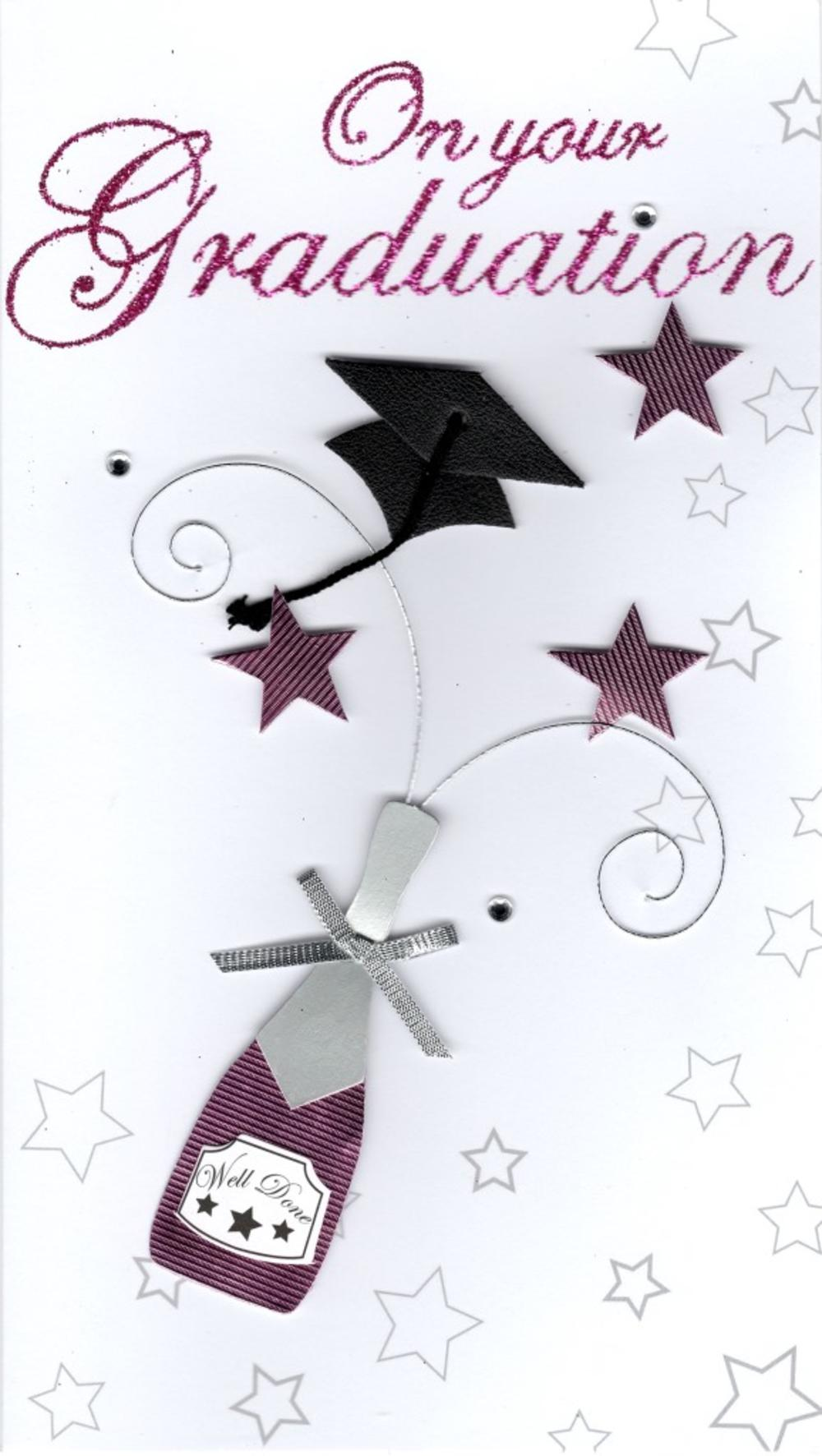 On Your Graduation Congratulations Greeting Card