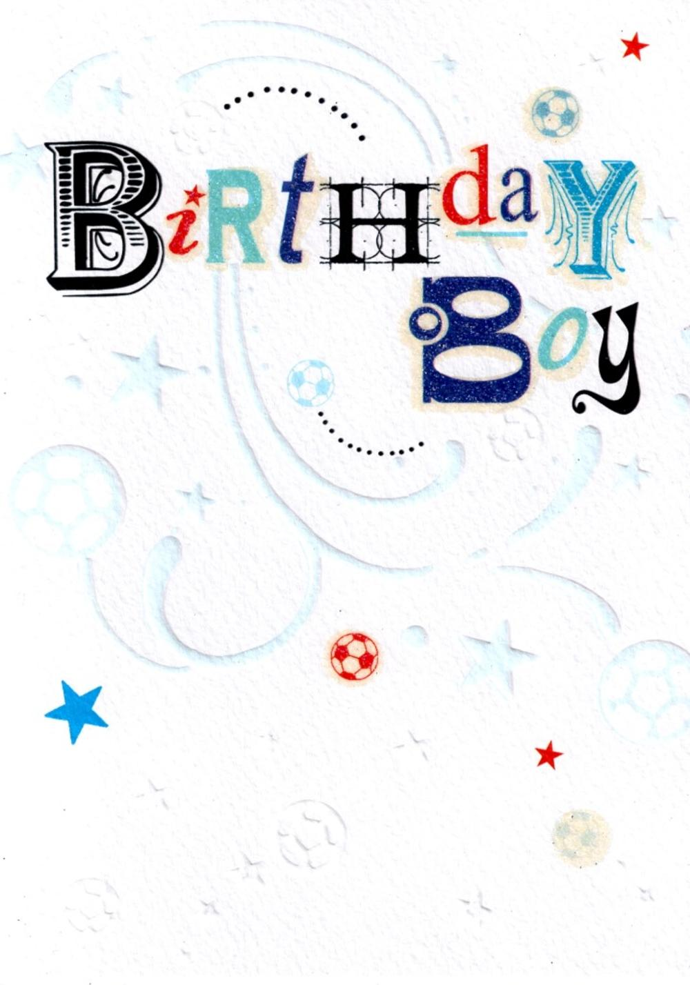 Birthday Boy Happy Birthday Card