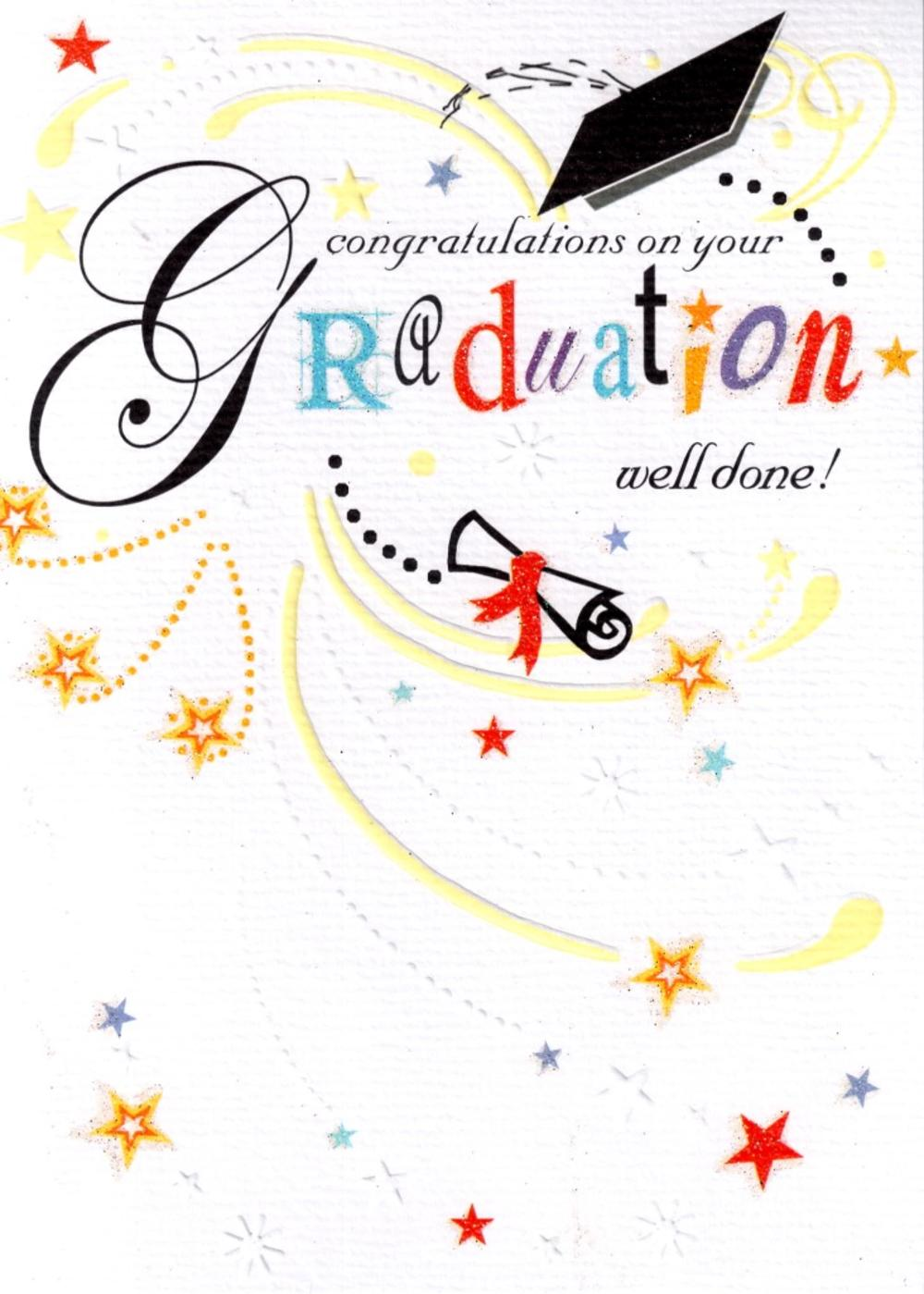 Congratulations on your graduation card cards love kates congratulations on your graduation card kristyandbryce Gallery