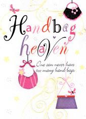 Handbag Heaven Birthday Card