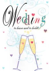 To Have & To Hold Wedding Card