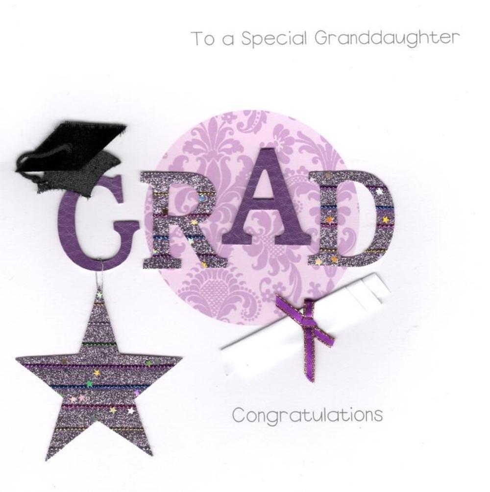 Granddaughter Graduation Keepsake Card