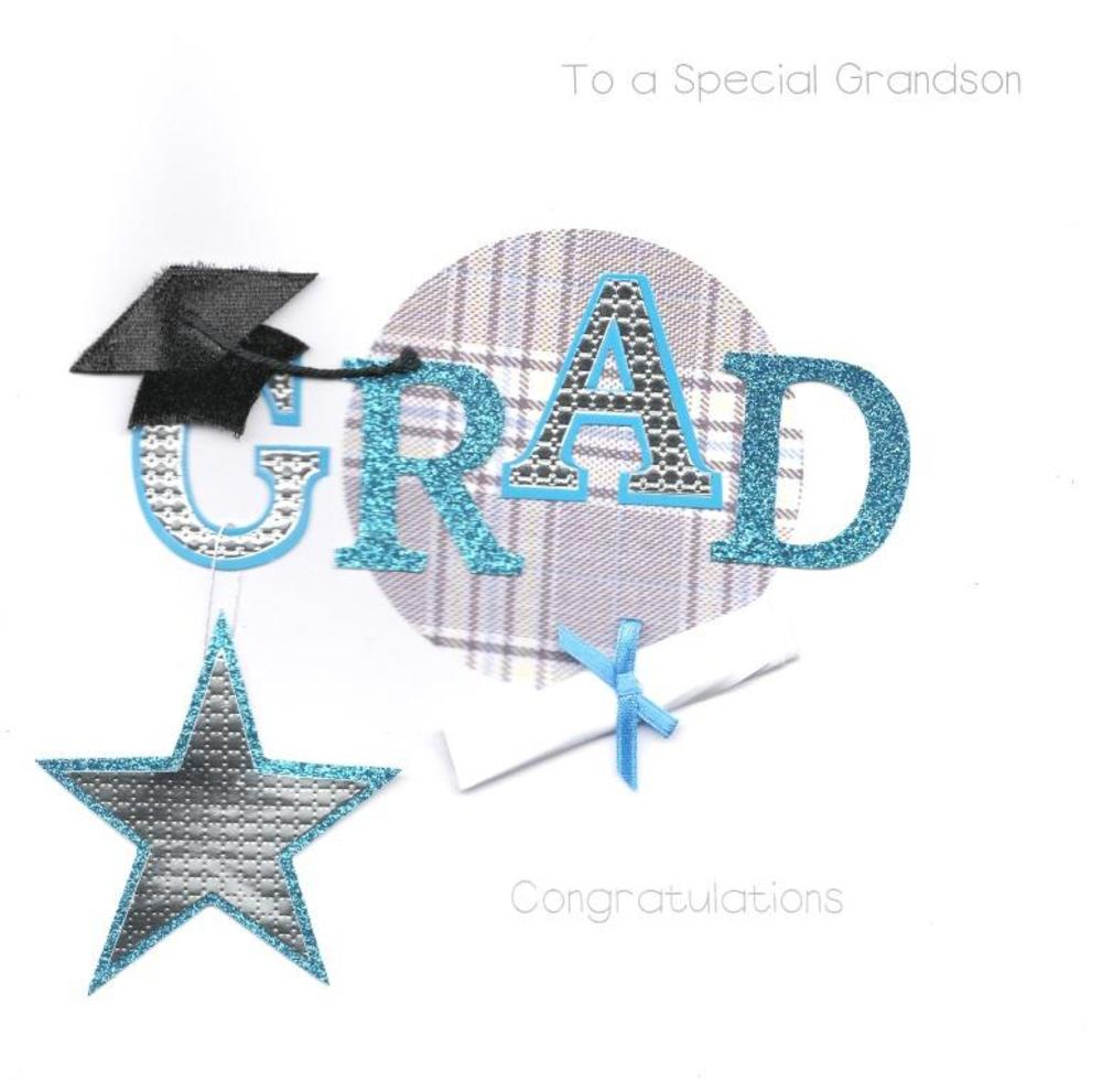 Grandson Graduation Keepsake Card
