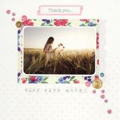 Thank You Very Much Greeting Card Blank Inside