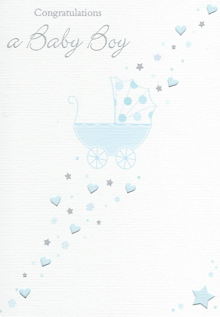 Congratulations a baby boy greeting card new baby greetings cards sentinel congratulations a baby boy greeting card new baby greetings cards m4hsunfo