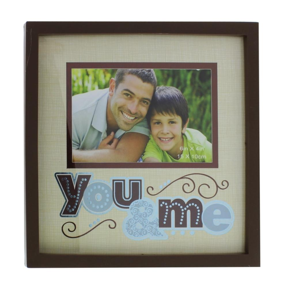 You Me 6 X 4 New View Photo Frame Anniversary Gifts