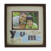 "You & Me 6"" x 4"" New View Photo Frame"