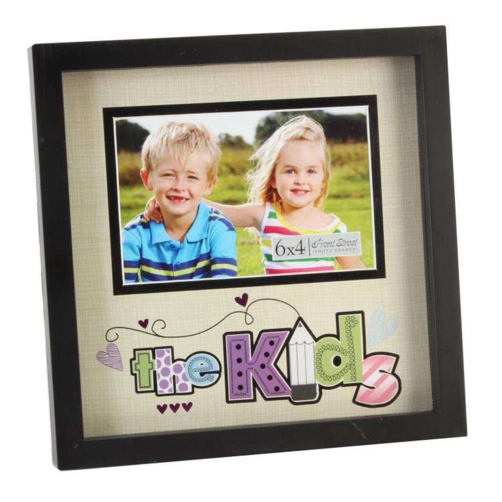 """The Kids 6"""" x 4"""" New View Photo Frame"""