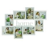 Home White Collage Multi Aperture Photo Frame