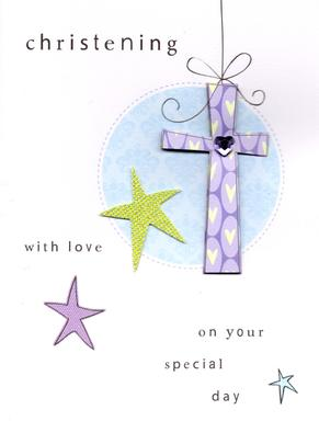 Christening On Your Special Day Greeting Card