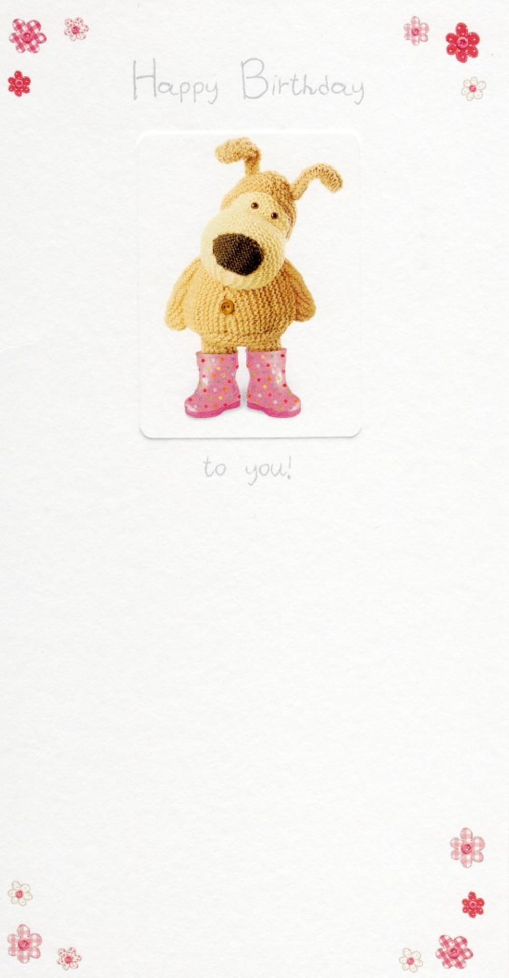 Boofle Happy Birthday To You Birthday Greeting Card