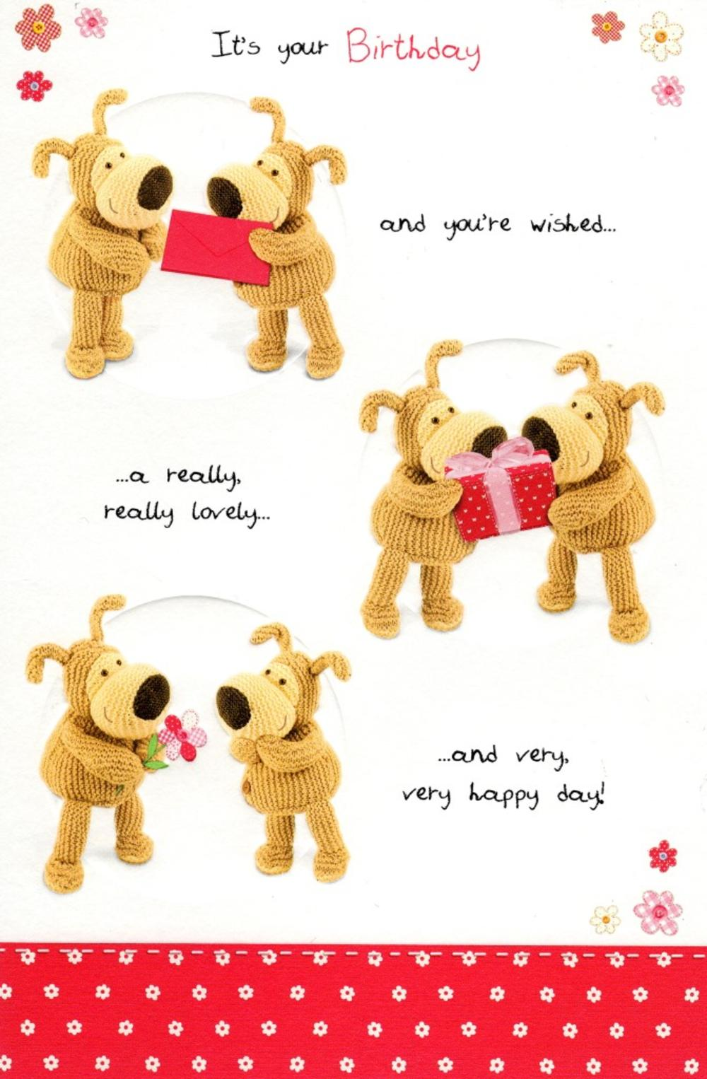 Boofle It's Your Birthday Greeting Card