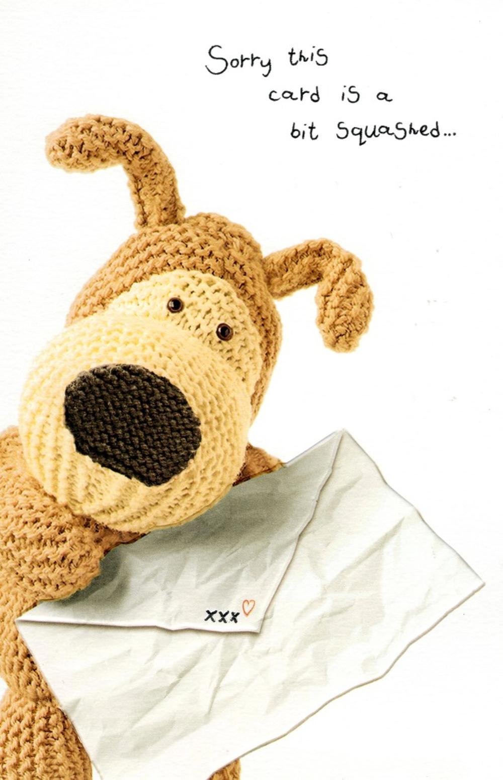 Boofle Big Cuddle Happy Birthday Greeting Card