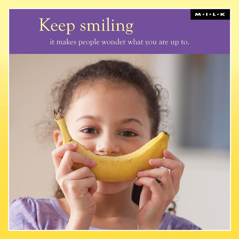Keep Smiling It Makes People Wonder Greeting Card