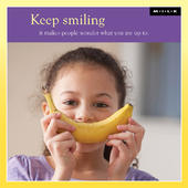 Keep Smiling It Makes People Wonder Greeting Card