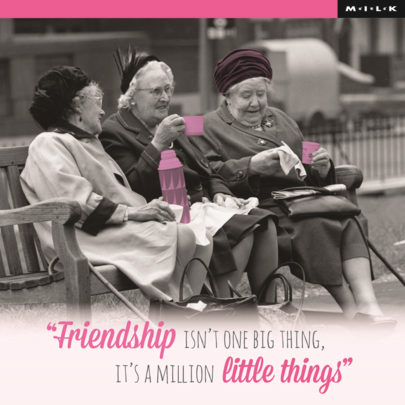 Friendship Is A Million Little Things Birthday Greeting Card