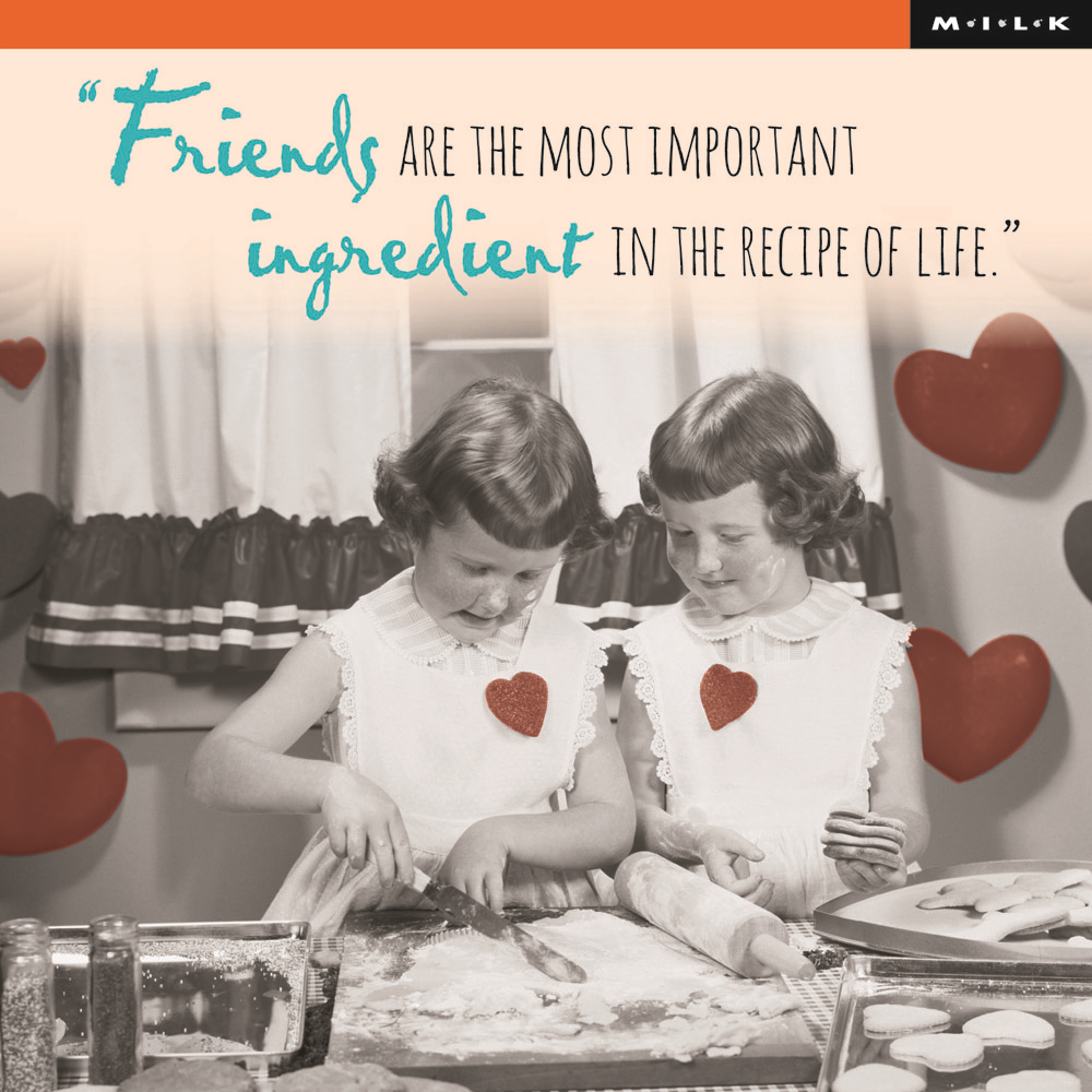 Friends Most Important Ingredient Birthday Greeting Card
