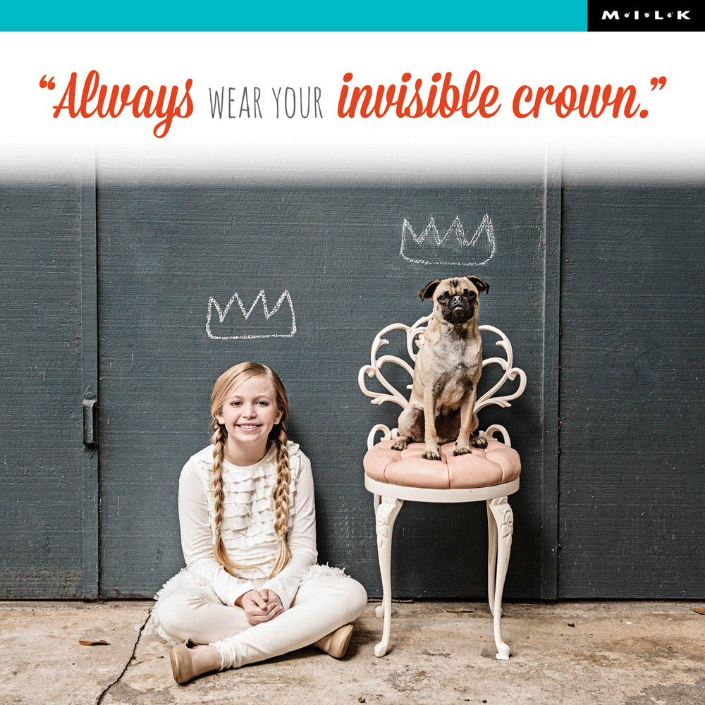 Always Wear Your Invisible Crown Birthday Greeting Card