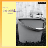 Small Is Beautiful Blank Greeting Card