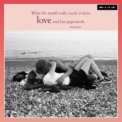 More Love Less Paperwork Blank Greeting Card