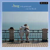 A Hug Is The Perfect Gift Blank Greeting Card