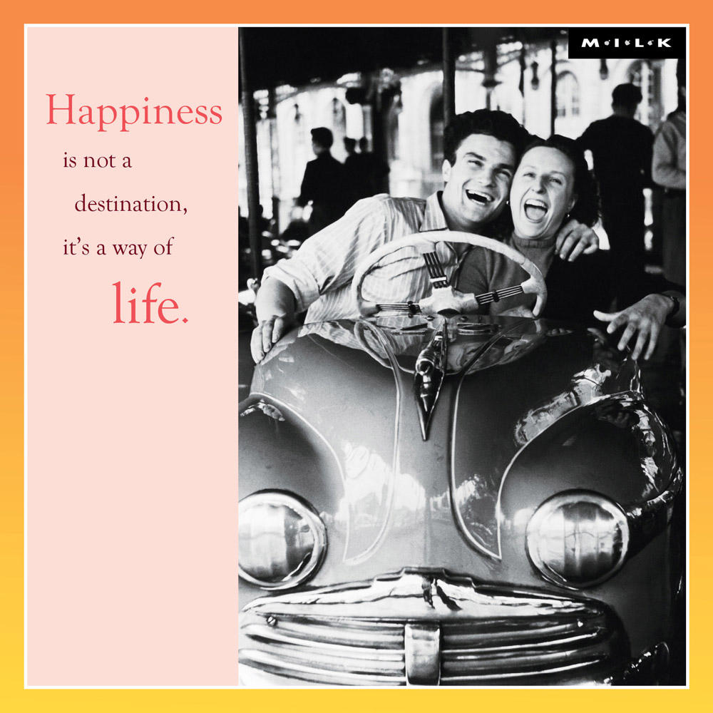 Happiness Is A Way Of Life Greeting Card