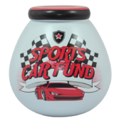 Sports Car Fund Pots of Dreams Money Pot