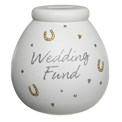 Appropriate Amount Of Cash For Wedding Gift: Wedding Fund Pot Of Dreams Engagement Gift Save Up & Smash