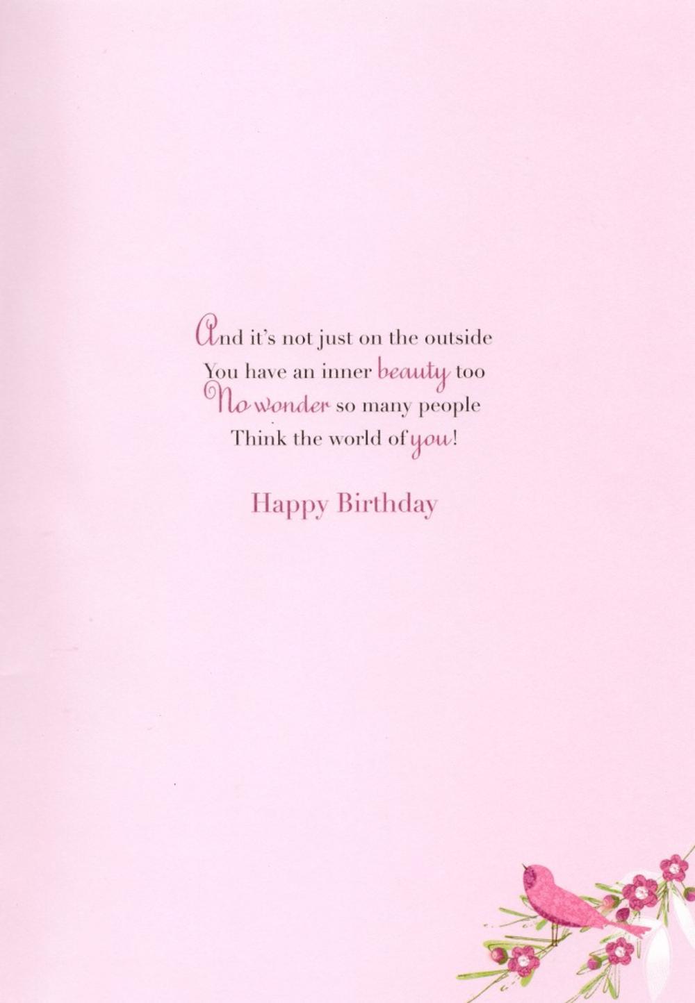 80th happy birthday greeting card