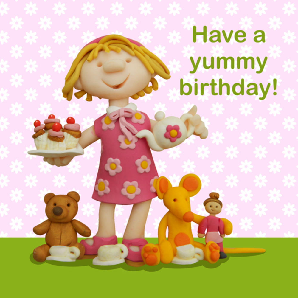 Have A Yummy Birthday Children's Birthday Card