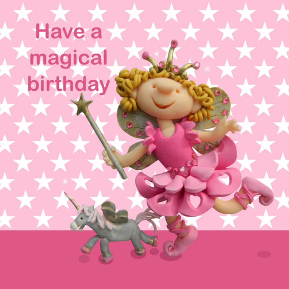 Have A Magical Birthday Children's Birthday Card