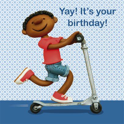 Yay! It's Your Birthday Children's Birthday Card