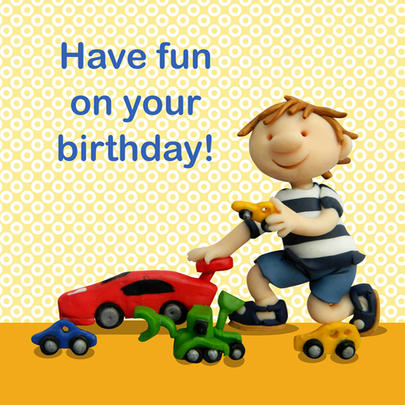 Have Fun On Your Birthday Children's Birthday Card