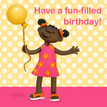Have A Fun-Filled Birthday Children's Birthday Card