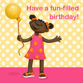 Have A Fun-Filled Birthday Children's Birthday Card