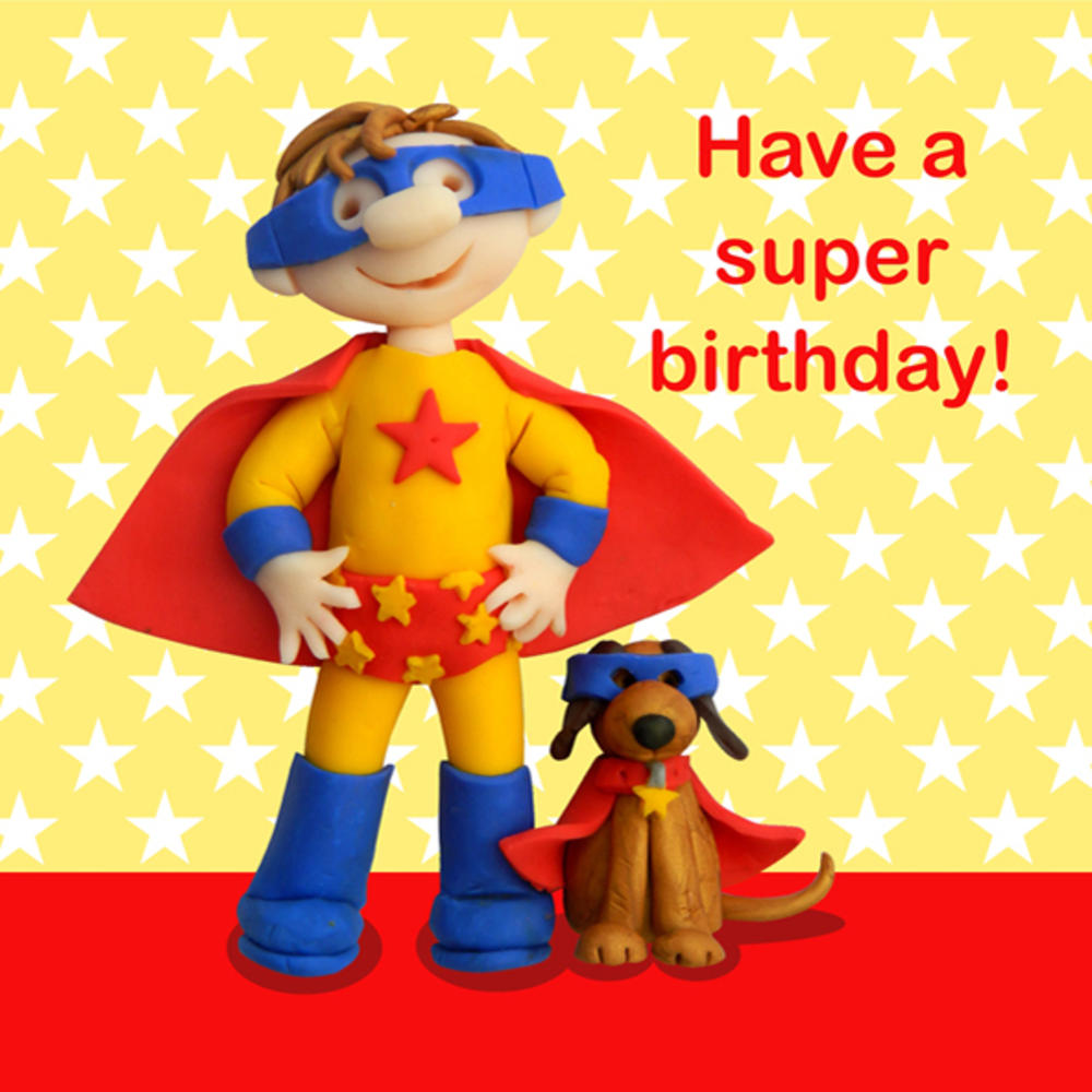 Have A Super Birthday Children's Birthday Card