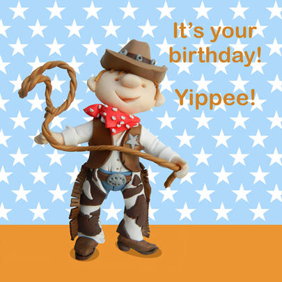 Yippee It's Your Birthday Children's Birthday Card