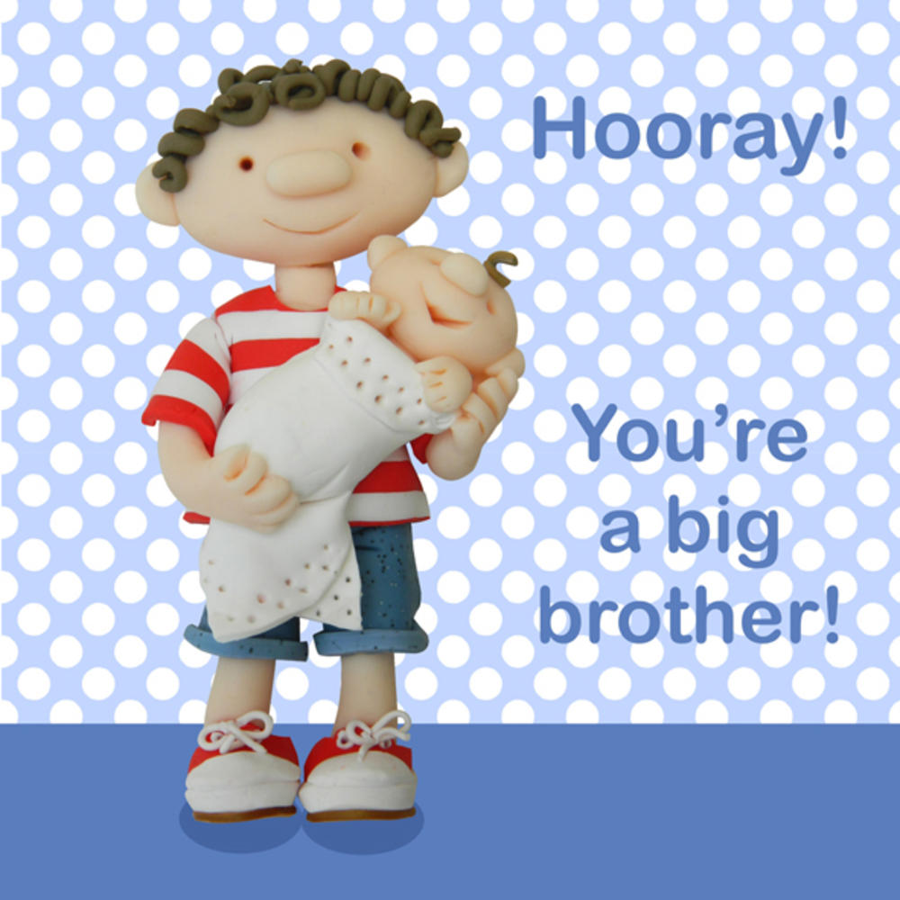 Youre A Big Brother New Baby Greeting Card Cards Love Kates