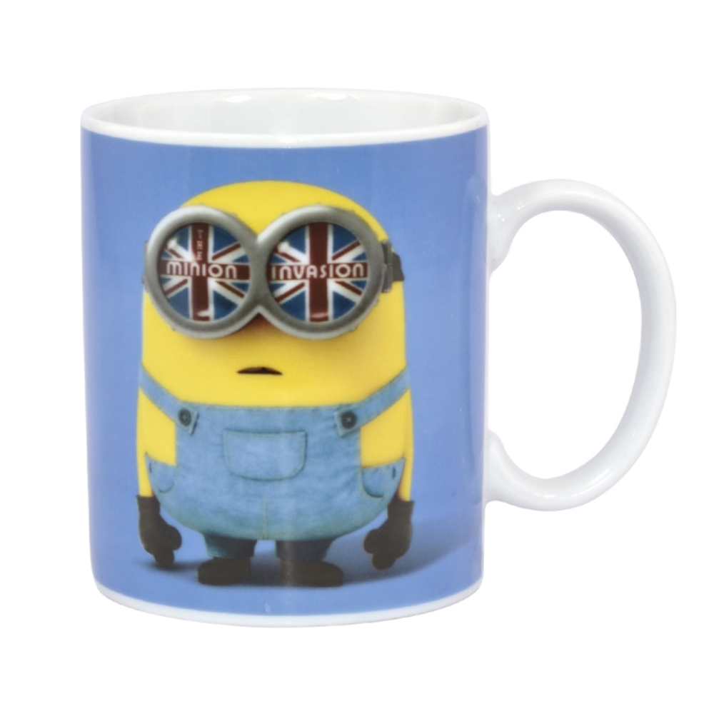 The Minion Invasion Ceramic Bob Mug In Gift Box
