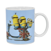 Minions On Moped Ceramic Minion Mug In Gift Box
