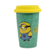 Minions Whatever Travel Mug with Silicone Lid