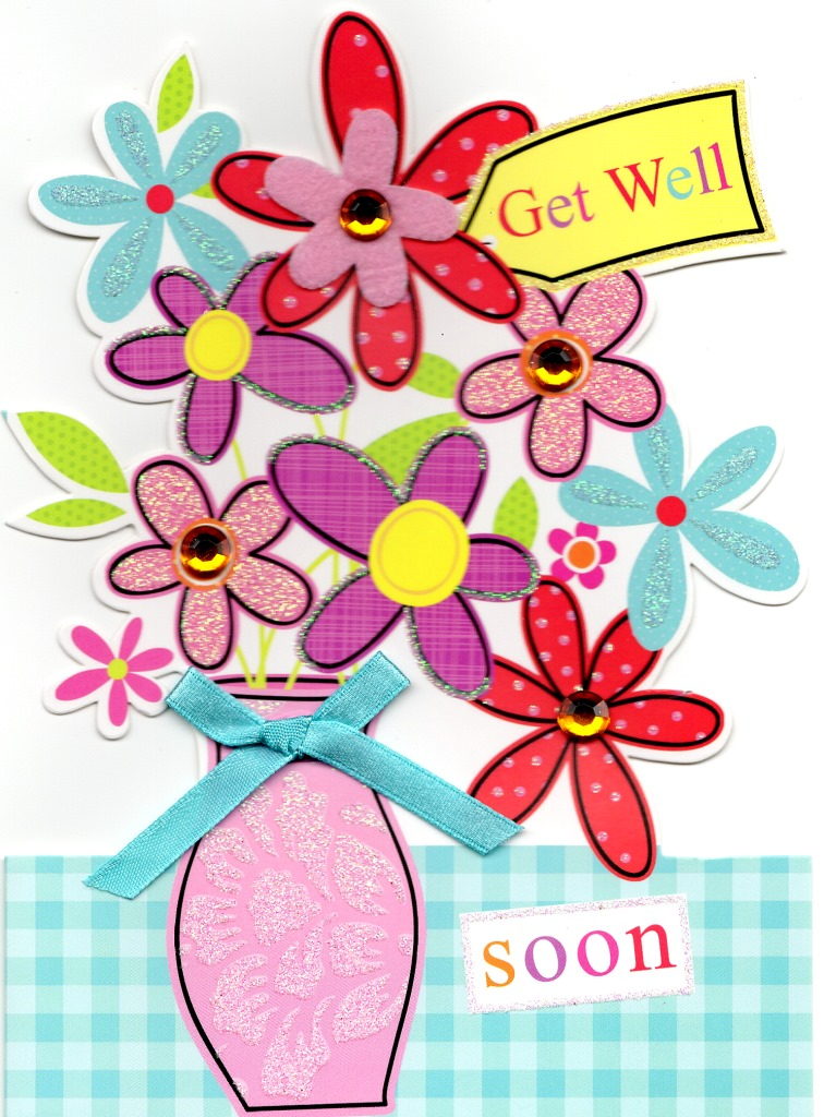 Get Well Soon Greeting Card Cards Love Kates