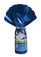 Lux Wrap Blue Luxury Bottle Gift Wrapping