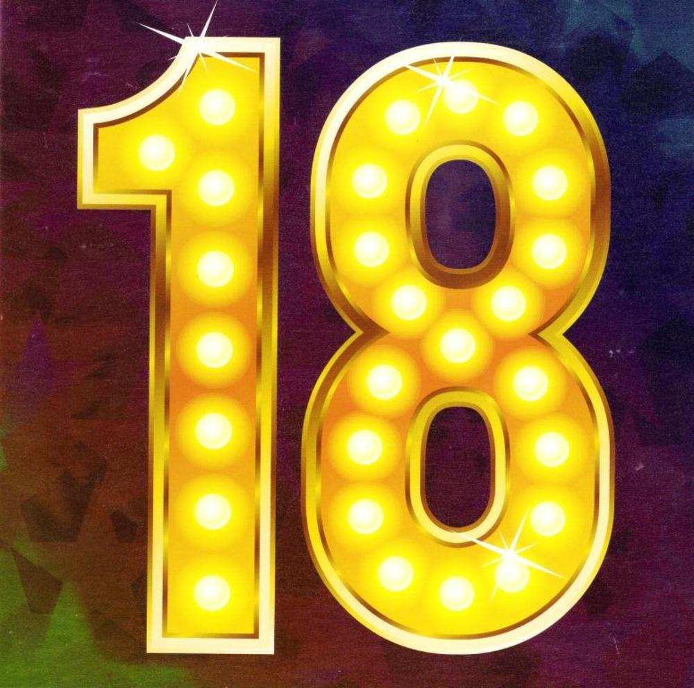 Eighteen Happy 18th Birthday Greeting Card