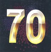 Seventy Happy 70th Birthday Greeting Card